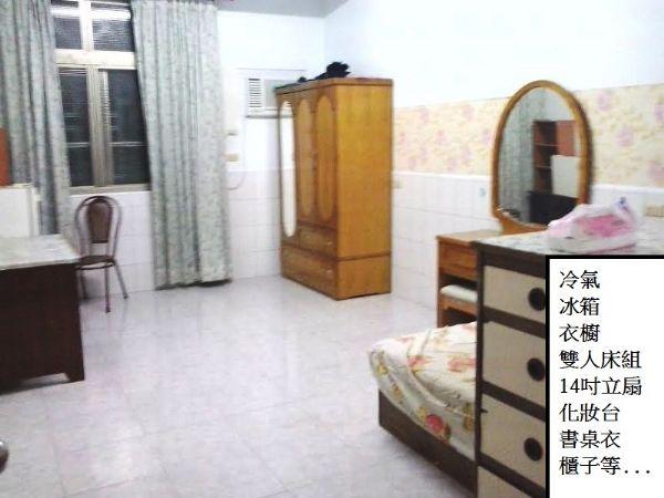 短租  大雅房 楠梓 雙人床 近 海軍高雄市楠梓區雅房出租-照片2