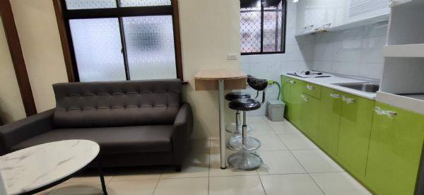 正一房一廳全新整理具電有廚房台中市北區套房出租-照片2